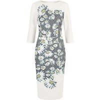Damsel in a dress Mixed Daisy Dress, Black/Ivory