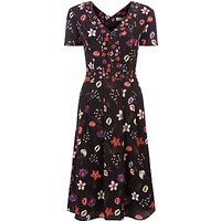 Fenn Wright Manson Antibes Botanical Print Dress, Multi