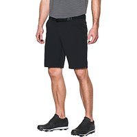 Under Armour Match Play Tapered Golf Shorts, Black