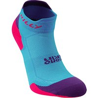 Hilly Lite Cushion Mono Skin Socklets, Blue/Purple