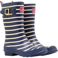 Joules Molly Mid Wellington Boot, Navy