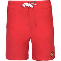 Lyle & Scott Boys Classic Swim Shorts, Red
