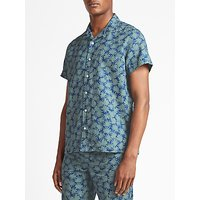Kin by John Lewis Arcea Print Short Sleeve Shirt, Green