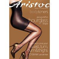 Aristoc 10 Denier Hourglass Tights, Nude
