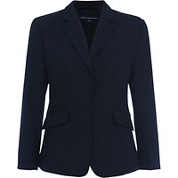 French Connection Summer Talulah Fitted Jacket, Utility Blue