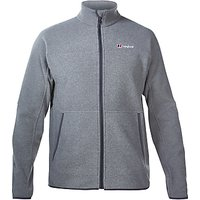 Berghaus Stainton Full Zip Mens Fleece, Grey