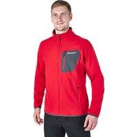Berghaus Deception Full Zip Mens Fleece, Red