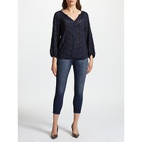 J Brand 835 Mid Rise Cropped Skinny Jeans, Decoy