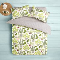 MissPrint House Plants Duvet Cover and Pillowcase Set