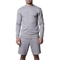 Hamilton and Hare Melange Fleck Sweatshirt, Grey