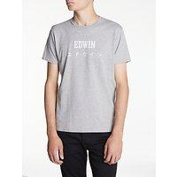 Edwin Japanese T-Shirt, Grey Marl