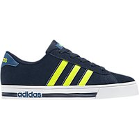 Adidas Childrens Daily Team Trainers, Navy