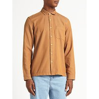 Kin by John Lewis Chambray Cotton Shirt, Red Clay