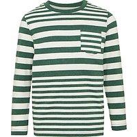 John Lewis Boys Variegated Stripe T-Shirt