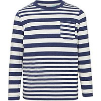 John Lewis Boys Variegated Stripe T-Shirt
