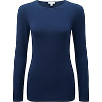 Pure Collection Soft Jersey Crew Neck Top