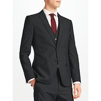 Kin Norton Slim Fit Suit Jacket, Charcoal