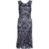 Gina Bacconi Beaded Lace Dress