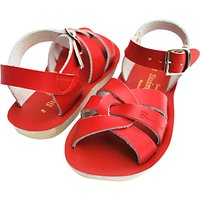 Salt-Water Childrens Swimmer Leather Sandals