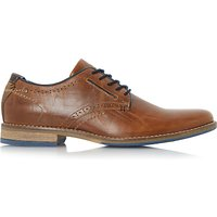 Dune Piped Derby Shoes, Tan