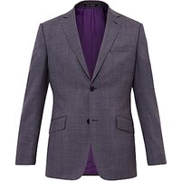 Ted Baker Cinchj Wool Tailored Fit Suit Jacket, Grey
