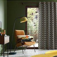 Orla Kiely Linear Stem Lined Eyelet Curtains