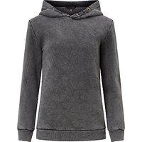 John Lewis Childrens Hooded Sweatshirt, Grey Marl