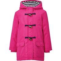 John Lewis Girls Jersey Lined Mac Coat