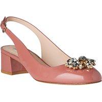 L.K. Bennett Elvira Jewelled Slingback Court Shoes,