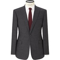 Kin by John Lewis Elm Check Slim Fit Suit Jacket, Charcoal
