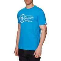 Original Penguin Gradient Combo Logo T-Shirt, French Blue