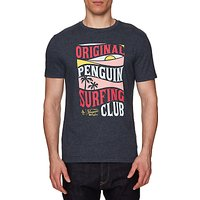 Original Penguin Surfing Club T-Shirt, Dark Sapphire