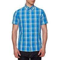 Original Penguin Seesucker Short Sleeve Shirt, French Blue
