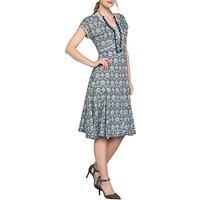East Sureka Print Dress, Dove