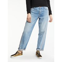 AND/OR Brea Selvedge Stripe Jeans, Rose Bowl