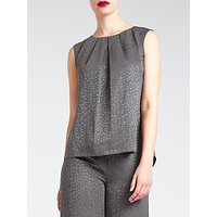 Bruce by Bruce Oldfield Faconne Top, Grey