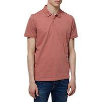 Selected Homme Summer Spot Polo Shirt, Light Mahogany