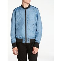 Diesel J-Pixie Bomber Jacket, Grey/Blue