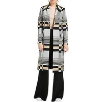 Grace & Oliver Bella Jacquard Tailored Coat, Multi