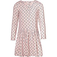 John Lewis Girls Tile Printed Dress, Cameo Rose