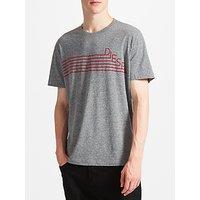 Diesel T-Joe-QF T-Shirt, Dark Melange
