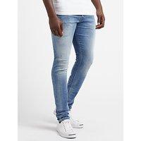 Diesel Tepphar 084GI Slim Jeans, Light Blue
