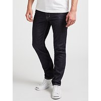 Diesel Larkee-Beex Regular Straight Dark Denim Jeans, Rinse
