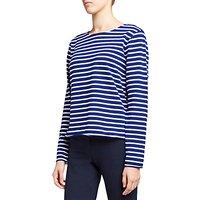 Winser London Striped Long Sleeve T-Shirt, Winser Blue/White