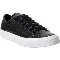 Converse Chuck Taylor All Star Ox Leather Trainers, Black/White