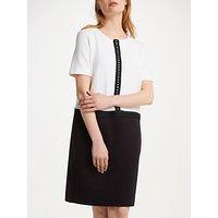 Winser London Detachable Collar Dress, Black