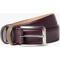 Ted Baker Shrubs Two Tone Leather Belt, Purple