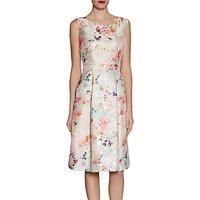Gina Bacconi Jacquard Dress Spring Blossom