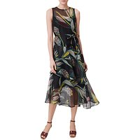 L.k. Bennett Kalia Silk Dress, Multi