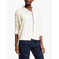 John Lewis & Partners Waffle Shawl Collar Bed Jacket, Ivory